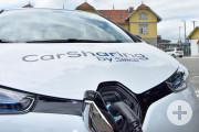 Das neue CarSharing-Projekt in Leutkirch wird offiziell in Betrieb genommen.