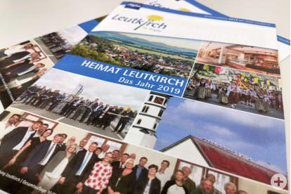 """""""Heimat Leutkirch 2019"""" - der Jahresrückblick ist erschienen."""