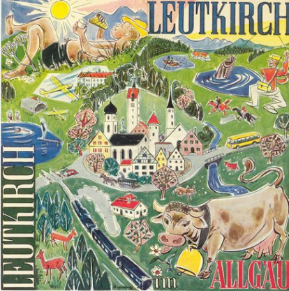 Werbeprospekt von 1958, gestaltet von Erwin Henning